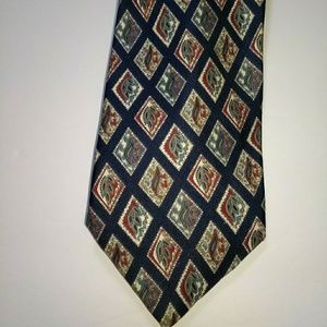 St. Michael From Marks And Spencer Silk Necktie